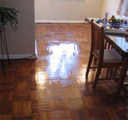 refinishing parquet floors | sandfree